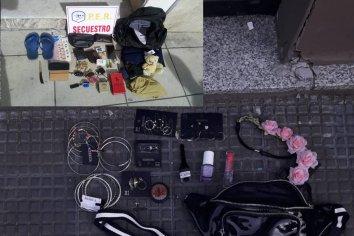 Dos detenidos por distintos robos en zona céntrica