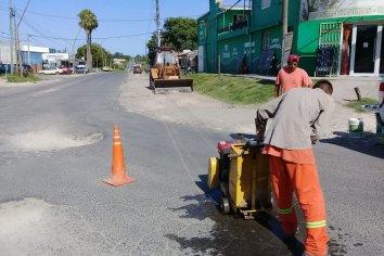 Se realizan obras para ampliar caudales y presión de agua potable