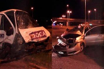 Fatal accidente de tránsito en la Autovía Artigas: Hay tres personas fallecidas