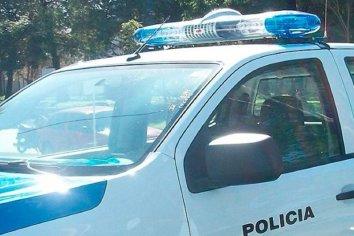 Menor detenido por golpes y amenazas