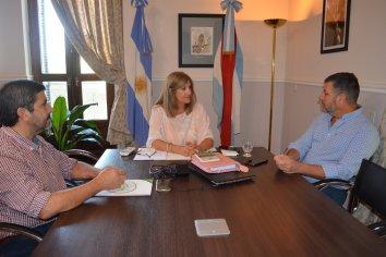 El presidente de Sidecreer se reunió con la Ministra de Gobierno y Justicia de la Provincia
