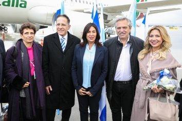 El Presidente Alberto Fernández llegó a Israel