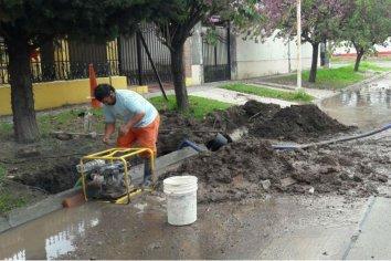 Plan de reparaciones de las redes y conexiones de agua potable