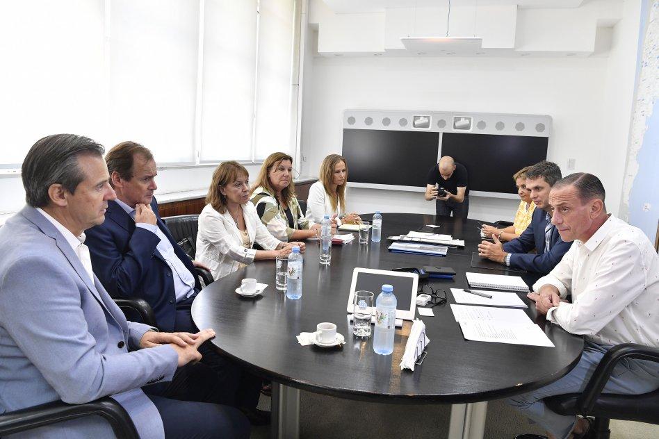 Bordet acordó con Nación la continuidad de obras claves para el desarrollo entrerriano