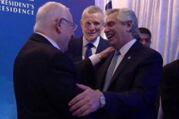 Alberto Fernández participó de una cena de honor de líderes en Israel