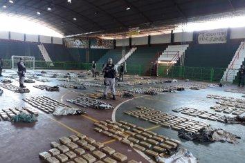 Barco Blanco: Se incautaron dos toneladas de marihuana