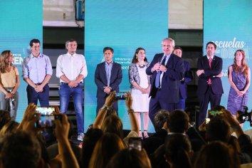 """El Presidente participó del lanzamiento de """"Argentina Unida por Educación y Trabajo"""""""