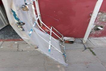Vandalismo en dependencia municipal