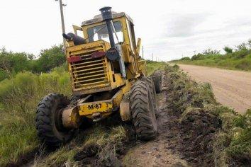 Vialidad Provincial realizó tareas de mantenimiento
