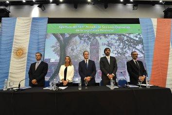 Quedó inaugurado el 141° período legislativo provincial