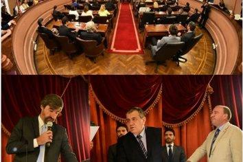 Giano celebró la designación de las autoridades