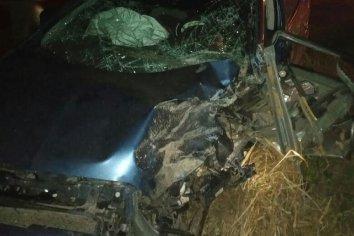 Un vecino de Valle María falleció en un triple choque en la ruta 11