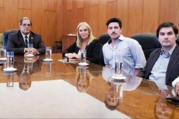 El presidente del STJ Martin Carbonell recibió a Julio Piumato