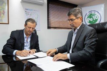 Enersa y la Municipalidad de Paraná firmaron un convenio de colaboración y asistencia mutua