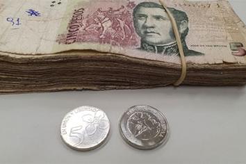 Llega el final de los billetes de 5 pesos: Hasta el 30 de Marzo hay tiempo de cambiarlo en el banco