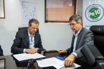 La Municipalidad de Paraná y Enersa firmaron un acuerdo de colaboración y asistencia mutua