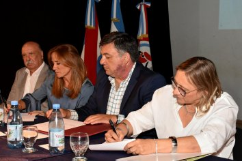 La provincia acompañó la conformación del Consejo Argentina y Concepción del Uruguay contra el Hambre