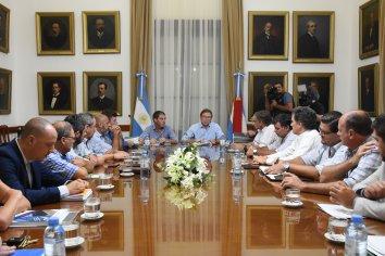 La Mesa de Enlace se reunió con el gobierno por la actualización del inmobiliario rural