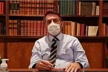 """Bolsonaro dio positivo de coronavirus pero aclara: """"Estoy perfectamente bien"""""""