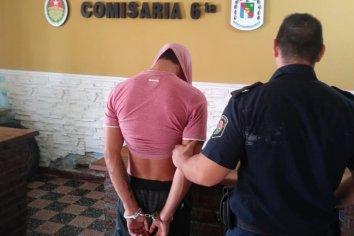 Joven fue detenido luego de golpear y amenazar a su hermana