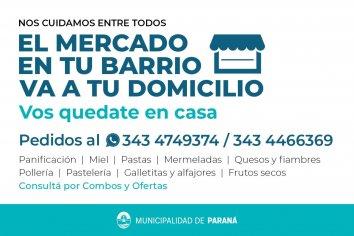 El Mercado en Tu Barrio va a domicilio