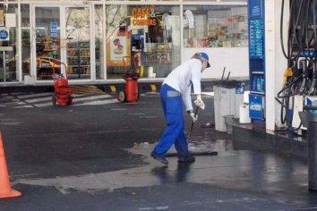 La demanda de combustibles cayó un 85% el fin de semana