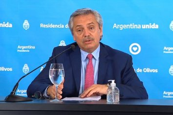 ARGENTINA EN CUARENTENA | Alberto extendió el aislamiento preventivo y obligatorio hasta después de Semana Santa