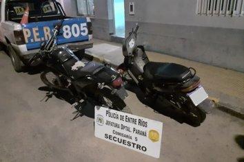 Secuestraron dos motos para establecer su procedencia