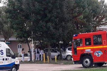 Principio de incendio en una productora farmacéutica de Colonia Avellaneda