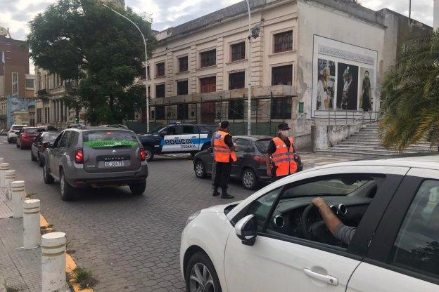 La policía Federal realiza controles en conjunto con las fuerzas provinciales