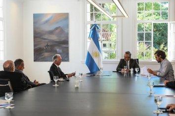 El Presidente recibió a la Cámara Argentina de Comercio