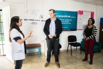 Continúa la aplicación de la vacuna antigripal a domicilio en Paraná