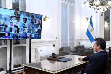 Diputados concretaron una nueva reunión de trabajo con el Ministro Mario Meoni