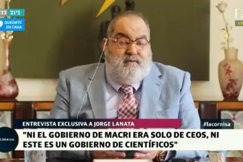 """Jorge Lanata: """"Si la pandemia le hubiera pasado a Macri, hubiera sido un desastre"""""""
