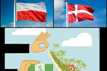 Dinamarca y Polonia se niegan a rescatar a compañías registradas en paraísos fiscales extraterritoriales