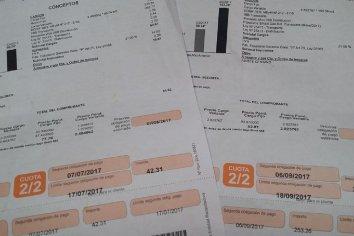 Redengas aclaró que el reglamento de concesión dispone la estimación de consumo cuando no hay medición