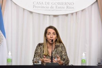 """""""En Entre Ríos no hay toma de tierras"""", sostuvo Laura Stratta"""