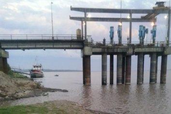 """Argento: """"No está colapsada la planta de Av. Ramirez, hay inconvenientes en captación de agua del río"""""""