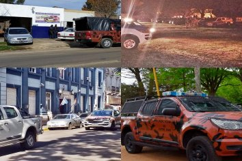 Concordia: Desbarataron una banda que vendía drogas y armas con policías implicados