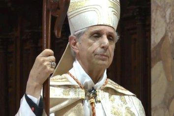 """En peculiar Tedeum, a puertas cerradas, el cardenal Mario Poli destacó """"la solidaridad"""" resurgida ante la pandemia"""