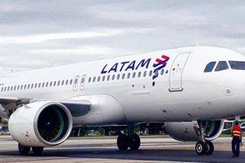 La aerolínea LATAM se declaró en quiebra en EEUU