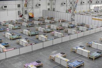 Abren en Costa Salguero un centro de aislamiento