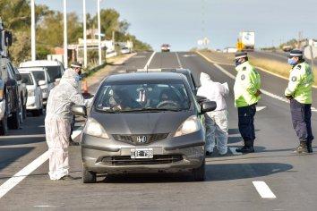 Se realizan controles rigurosos en el ingreso a Entre Ríos desde Buenos Aires