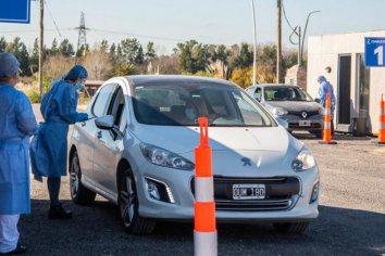Pilar: se podrán hacer test sin bajarse del auto