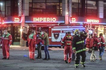 """""""Sentimos gran dolor por la muerte de dos colegas"""", lamentó el jefe de Bomberos Voluntarios"""