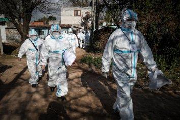 Volvieron a subir los casos de COVID 19 en el país, hubo 949 contagios y 14 muertes