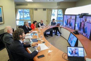 Comenzó la videoconferencia del Presidente con gobernadores