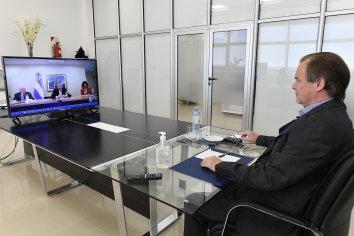 Gustavo Bordet abordó la situación epidemiológica de Entre Ríos con el Presidente