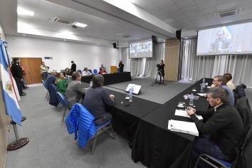 Bordet compartió las acciones del gobierno con diputados del oficialismo
