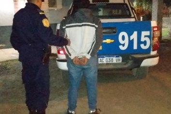 Un hombre irrumpió en la casa de su pareja y fue detenido